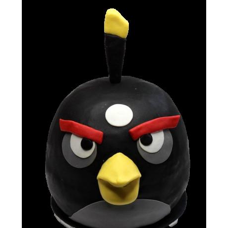 black angry bird cake 1 6