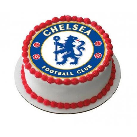chelsea football theme cake 6
