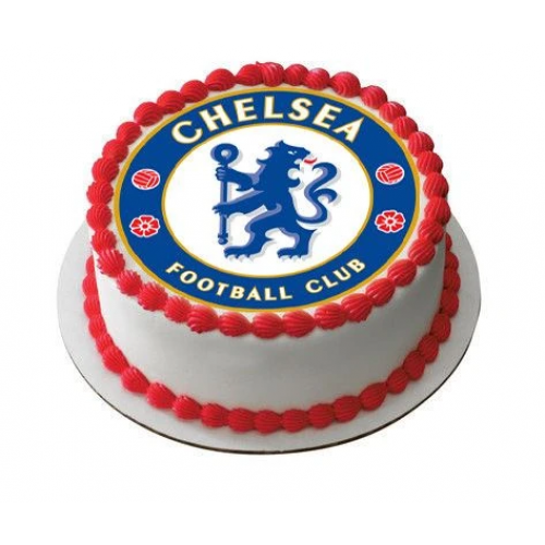chelsea football theme cake 7