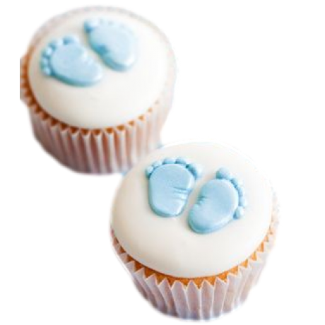 baby cupcakes 6 6