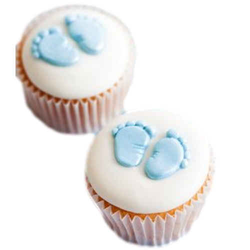 baby cupcakes 6 7