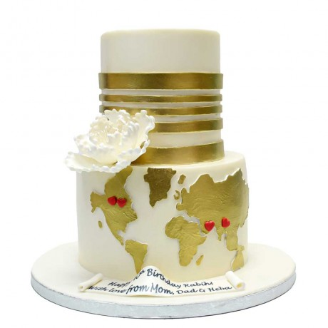 world map cake 2 6