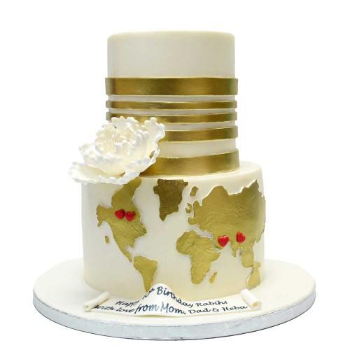 world map cake 2 7