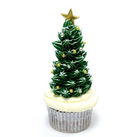 christmas tree cupcakes 2 12