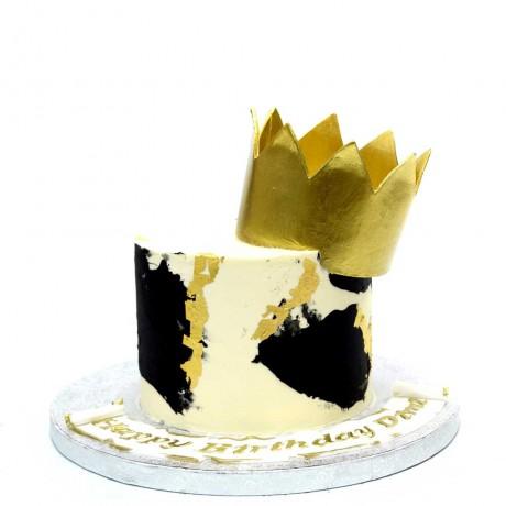 crown cake 8 6
