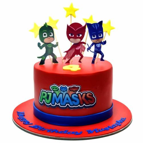pj masks cake 9 7