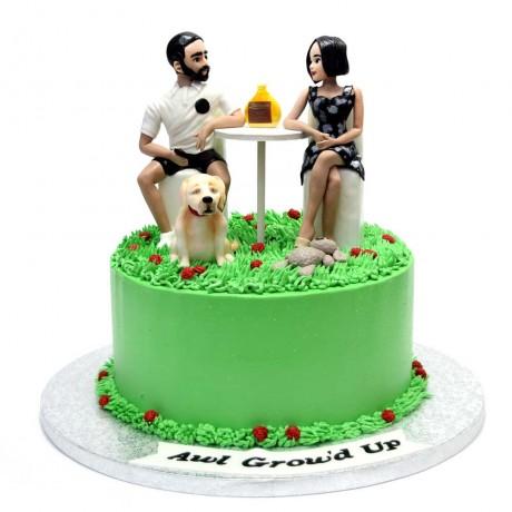 anniversary cake 7 6