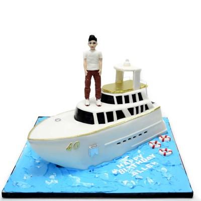 Yacht cake 4
