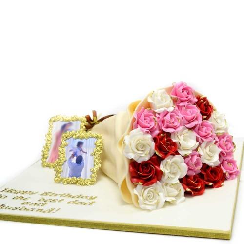 bouquet cake 3 7