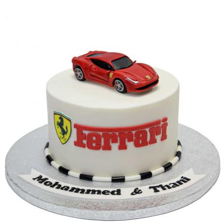 ferrari cake 11 12