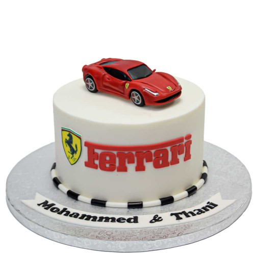 ferrari cake 11 13
