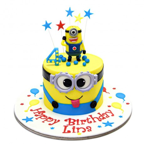 minions cake 14 12