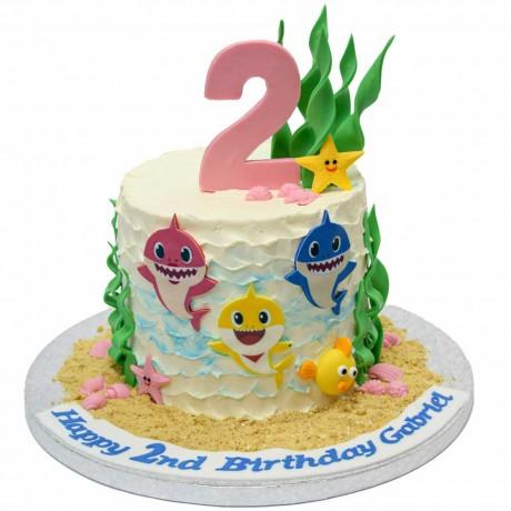 baby shark cake 7 12