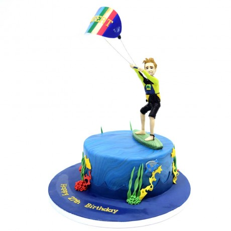 kite surf cake 6