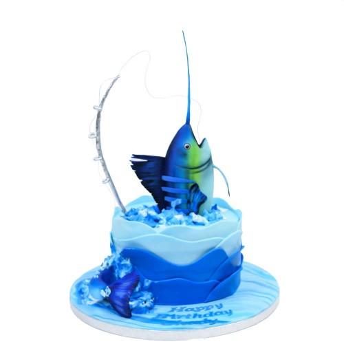 fishing cake 3 13