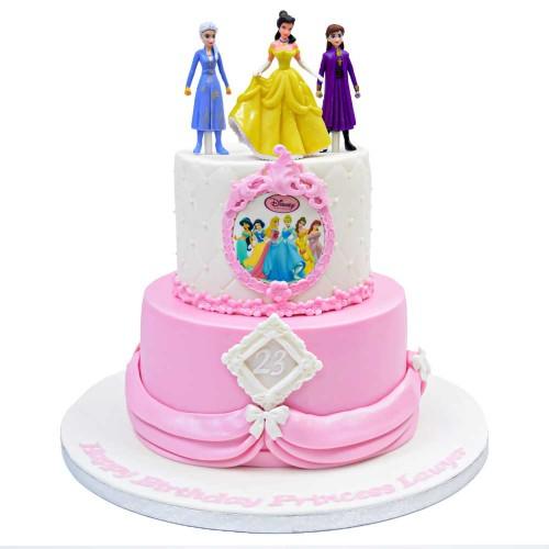 disney princesses cake 24 7