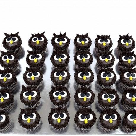 owl cupcakes 1 12