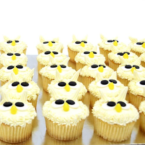 Owl cupcakes 2