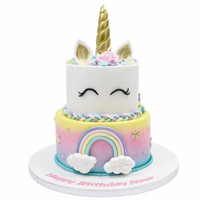 Unicorn cake 9