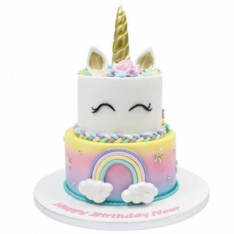 unicorn cake 9 12