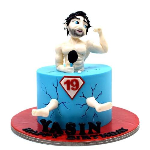 bodybuilder cake 7