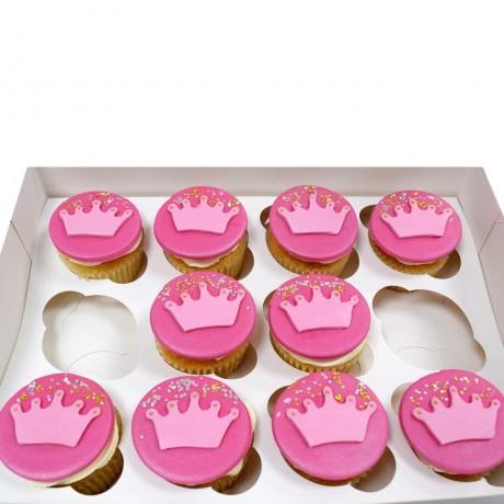 princess crown cupcakes 12