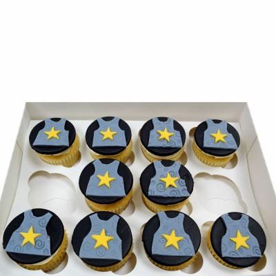 Knight armor cupcakes