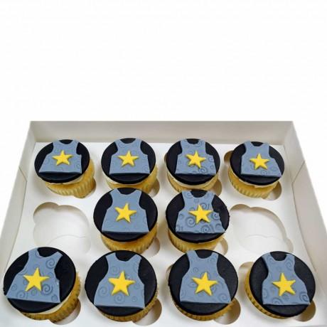 knight armor cupcakes 6