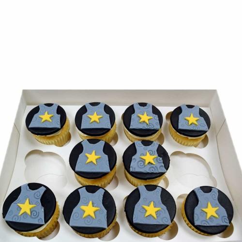 knight armor cupcakes 7