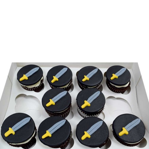 sword cupcakes 13