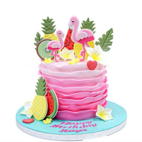 flamingo cake 3 6
