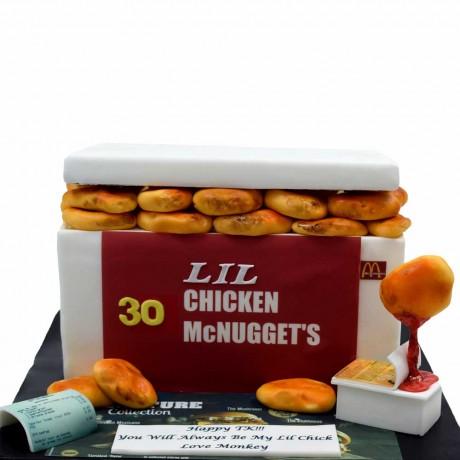 chicken mcnuggets cake 6