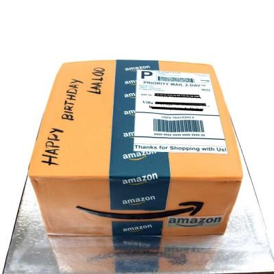 Amazon box cake