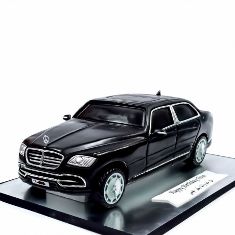 mercedes-maybach s 560 car cake 8