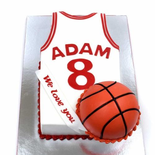 basketball cake 2 7