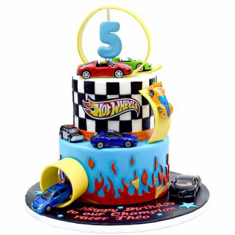hot wheels cake 3 6