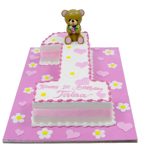 first birthday cake 8 7