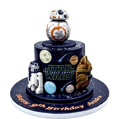 Star Wars cake 6