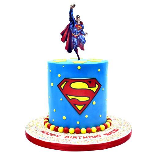 cake superman 2 7