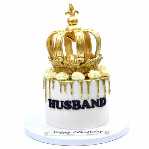 crown cake 10 7