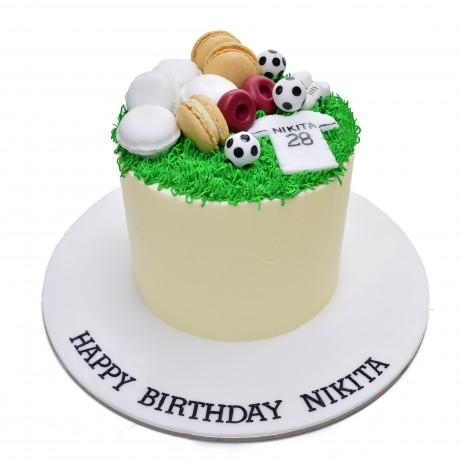 football cake 15 6