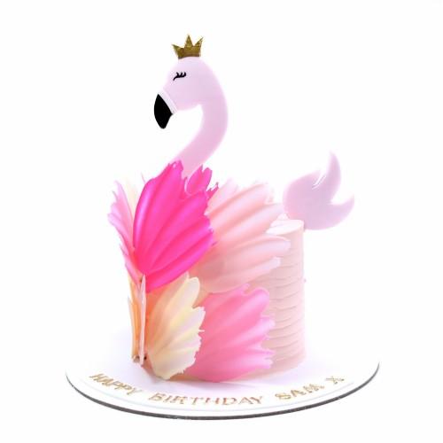flamingo cake 8 7
