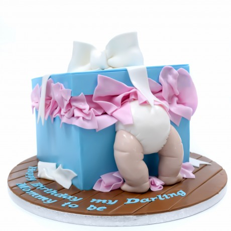 baby in a box cake 6
