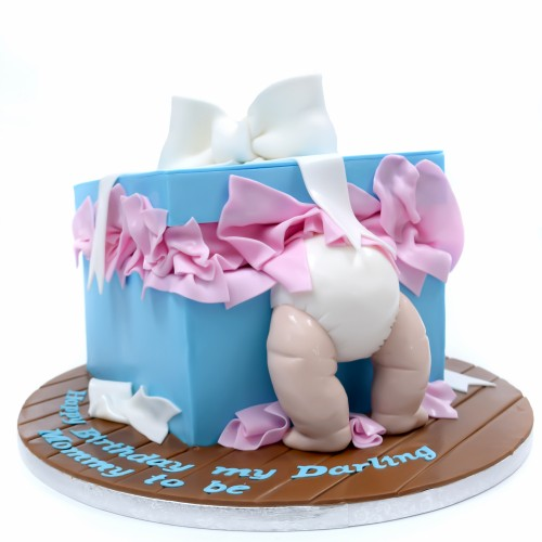 baby in a box cake 7