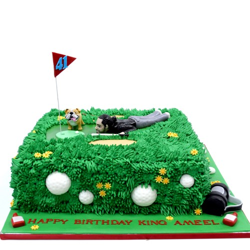 golf cake 7 8