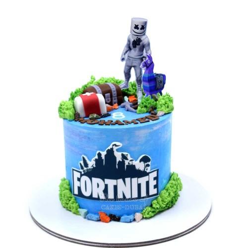 fortnite cake 8 7