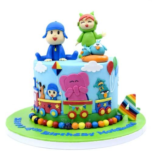 pocoyo cake 5 7