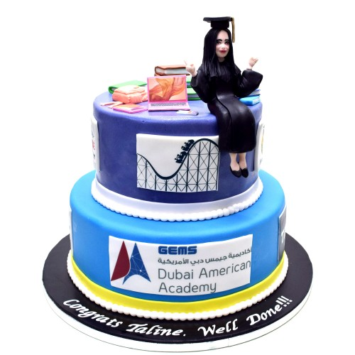 graduation cake 43 13