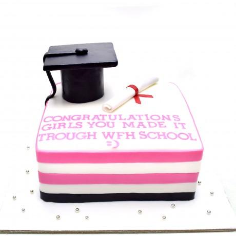 graduation cake 40 6