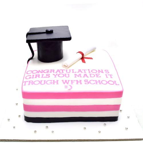 graduation cake 40 7